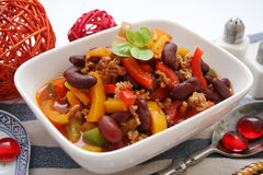 Chili con carne Stock Photography