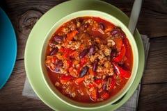Chili con carne Royalty-vrije Stock Fotografie