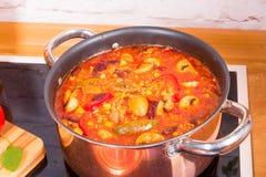 Chili con Carne. A fresh and tasty Chili con Carne Stock Image