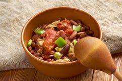 Chili con carne Korzenny Domowej roboty Zdjęcie Royalty Free