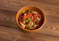 Chili con carne Korzenny Domowej roboty Obrazy Stock