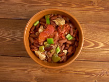 Chili con carne Korzenny Domowej roboty Zdjęcia Royalty Free