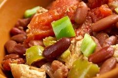 Chili con carne Korzenny Domowej roboty Obraz Stock