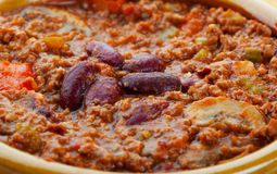 Chili Con Carne Macro Stock Photos