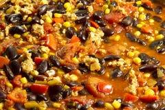 Chili con carne messicano Fotografia Stock Libera da Diritti