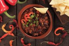 Chili con carne messicano immagine stock libera da diritti