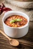 Chili con carne mexicano fotografia de stock