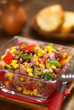 Chili con Carne Salad Royalty Free Stock Images