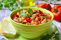 Chili con carne. Royalty Free Stock Photo