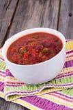 Chili con carne wołowiny chili Obrazy Stock