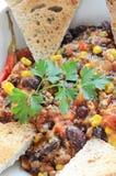 Chili con carne z pietruszką Zdjęcia Stock