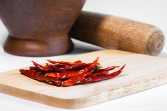 Chili for cooking. Food spice eating vegetable Stock Image