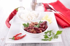 Chili corn carne Royalty Free Stock Photography