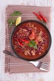 Chili corn carne Stock Image