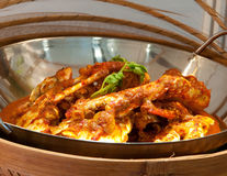 Chili Crab Royalty Free Stock Images