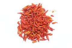 chili czerwień wysuszona gorąca Zdjęcie Stock