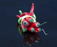 Chili czerwoni pieprze fotografia royalty free