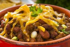 Chili Dinner épicé photos stock