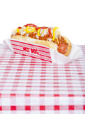 Chili dog Stock Photos
