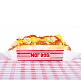 Chili dog Royalty Free Stock Photography