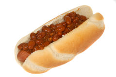 Chili Dog Royalty Free Stock Photos