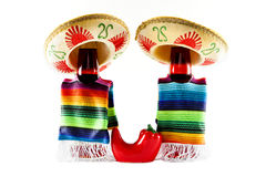 Chili Drinks. Drink bottles dressed for Cinco de Mayo