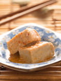 Chili fermented bean curd tofu Stock Photography