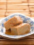 Chili fermented bean curd tofu Stock Photo