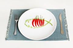 Chili fish Royalty Free Stock Photos