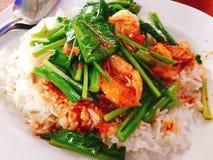 Chili fish sauce Royalty Free Stock Photos