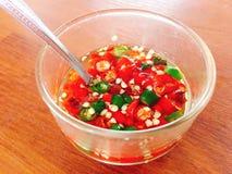 Chili fish sauce Stock Photos