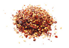 Chili flakes Royalty Free Stock Photos