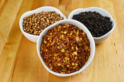 Chili Flakes Stock Photography