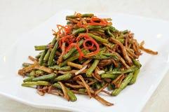 Chili garlic burn beans Stock Image