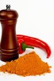 chili gorąca czerwień Obraz Stock