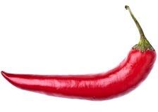 chili gorącego pieprzu czerwień Zdjęcia Stock