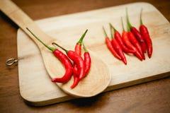 Chili gorący pieprze Obraz Royalty Free