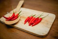 Chili gorący pieprze Zdjęcie Stock