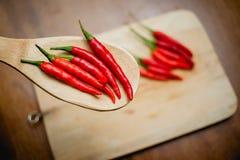 Chili gorący pieprze Fotografia Royalty Free