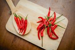 Chili gorący pieprze Fotografia Stock