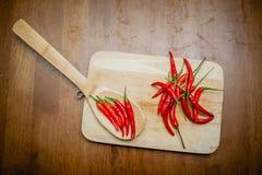 Chili gorący pieprze Obrazy Royalty Free