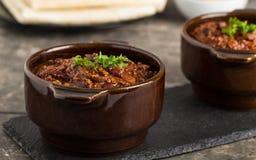 Chili grzechu carne Fotografia Stock