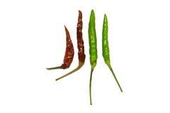 Chili. Hot chilli  isolated  white background Stock Images