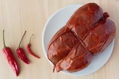 Chili i nduja «, zdjęcie royalty free