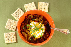 chili krakers Obrazy Royalty Free