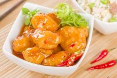 Chili kurczak Zdjęcie Stock