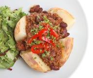 chili kurtki ziemniaka Obraz Royalty Free