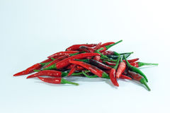 Chili. Little chili pepper in nature Royalty Free Stock Photography