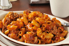 Chili Mac Closeup Royalty Free Stock Images