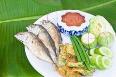 Chili mackerel Stock Image